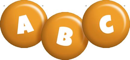 Abc candy-orange logo