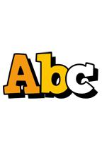 Abc cartoon logo