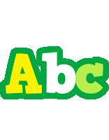 Abc soccer logo
