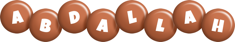 Abdallah candy-brown logo