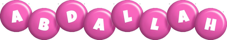 Abdallah candy-pink logo