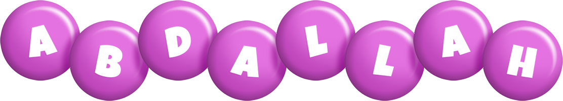 Abdallah candy-purple logo