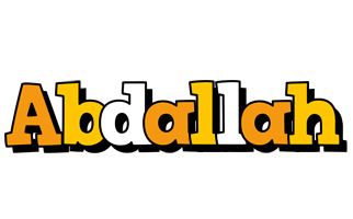 Abdallah cartoon logo