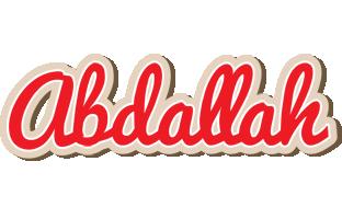 Abdallah chocolate logo
