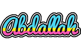 Abdallah circus logo