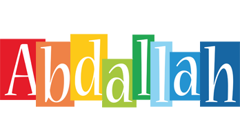 Abdallah colors logo