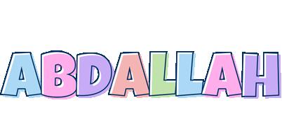 Abdallah pastel logo