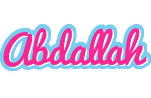 Abdallah popstar logo