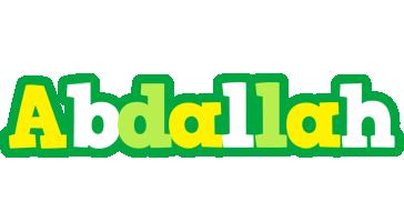 Abdallah soccer logo