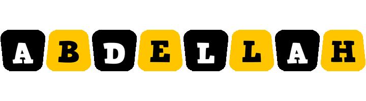 Abdellah boots logo