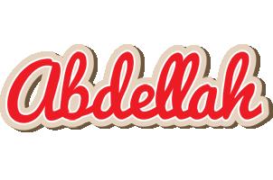 Abdellah chocolate logo