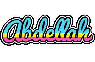 Abdellah circus logo