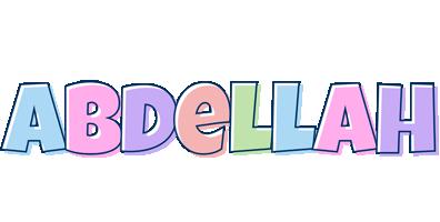 Abdellah pastel logo