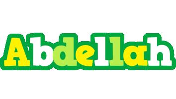 Abdellah soccer logo