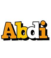 Abdi cartoon logo