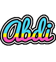 Abdi circus logo