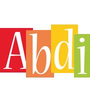 Abdi colors logo
