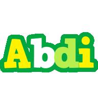 Abdi soccer logo