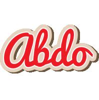 Abdo chocolate logo
