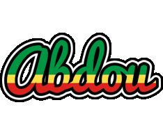 Abdou african logo