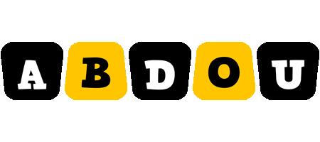 Abdou boots logo