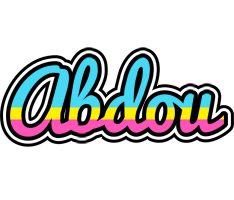 Abdou circus logo