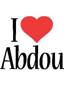 Abdou i-love logo
