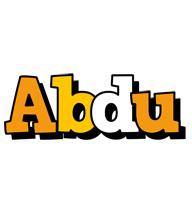 Abdu cartoon logo