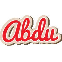 Abdu chocolate logo