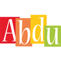 Abdu colors logo