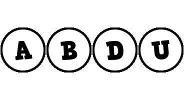 Abdu handy logo