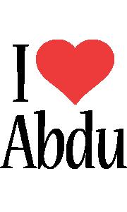 Abdu i-love logo