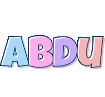 Abdu pastel logo