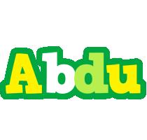 Abdu soccer logo