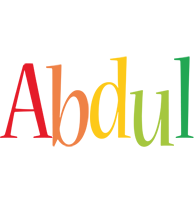 Abdul birthday logo