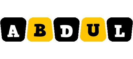 Abdul boots logo