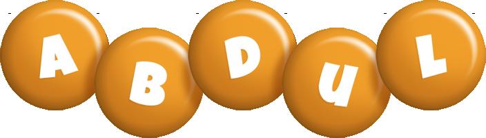 Abdul candy-orange logo