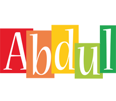Abdul colors logo