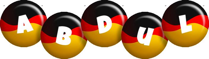 Abdul german logo