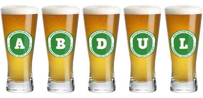 Abdul lager logo
