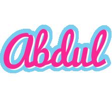 Abdul popstar logo