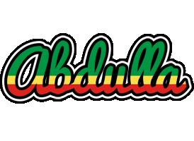 Abdulla african logo