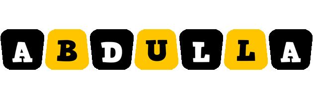 Abdulla boots logo