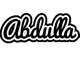 Abdulla chess logo