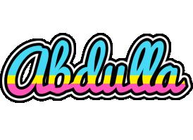 Abdulla circus logo