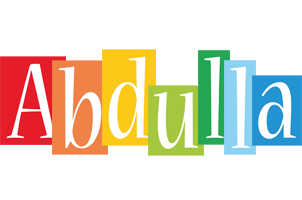 Abdulla colors logo