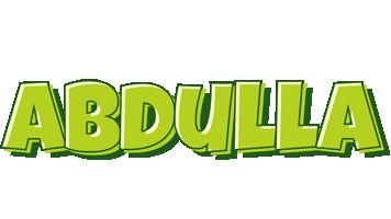 Abdulla summer logo