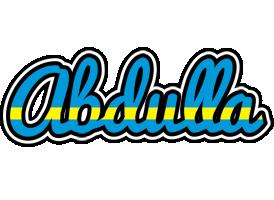 Abdulla sweden logo