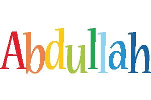 Abdullah birthday logo