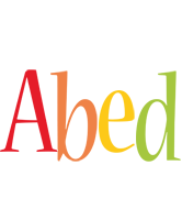 Abed birthday logo